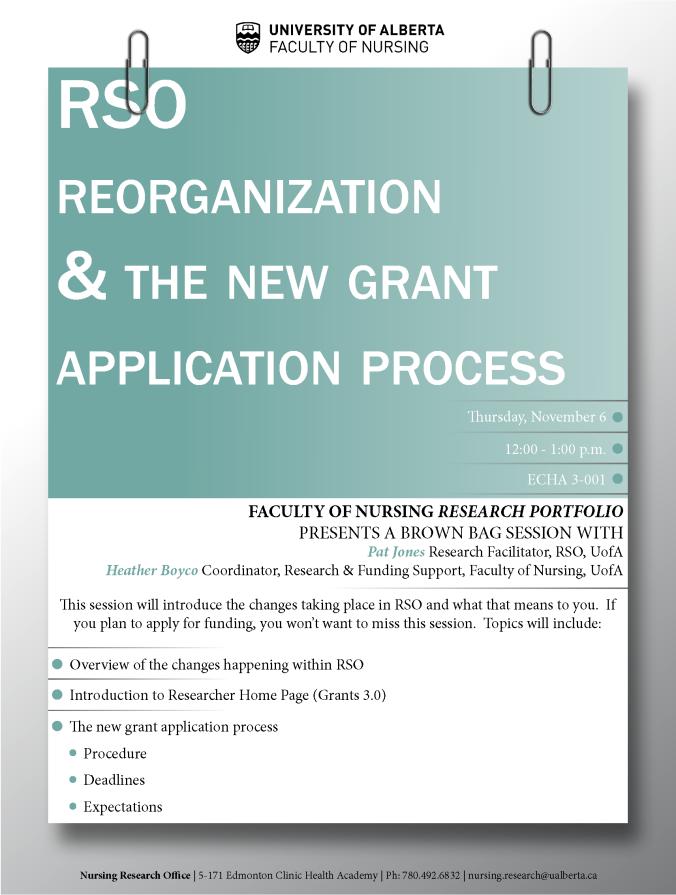 RSO Reorganization 6NOV2014
