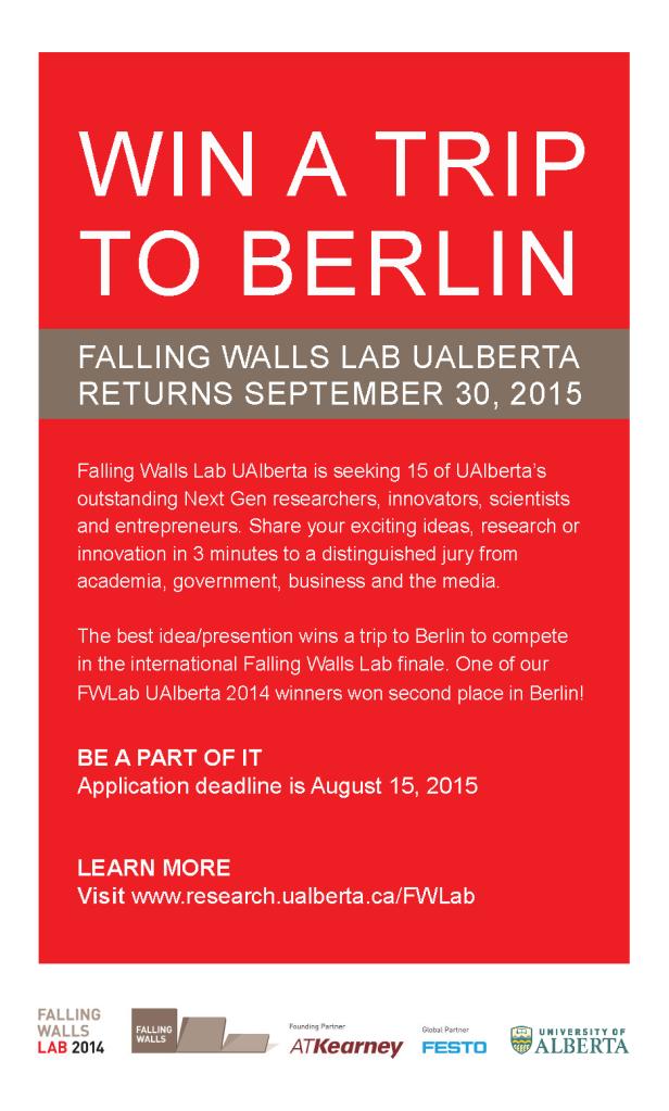 FWLab UAlberta 2015 promo poster 8 x 14