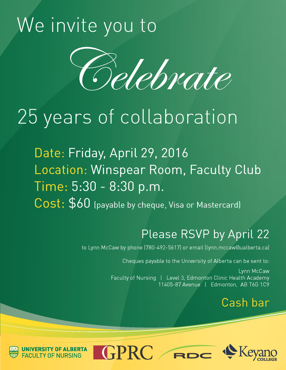 Collab 25th Anniversary Event